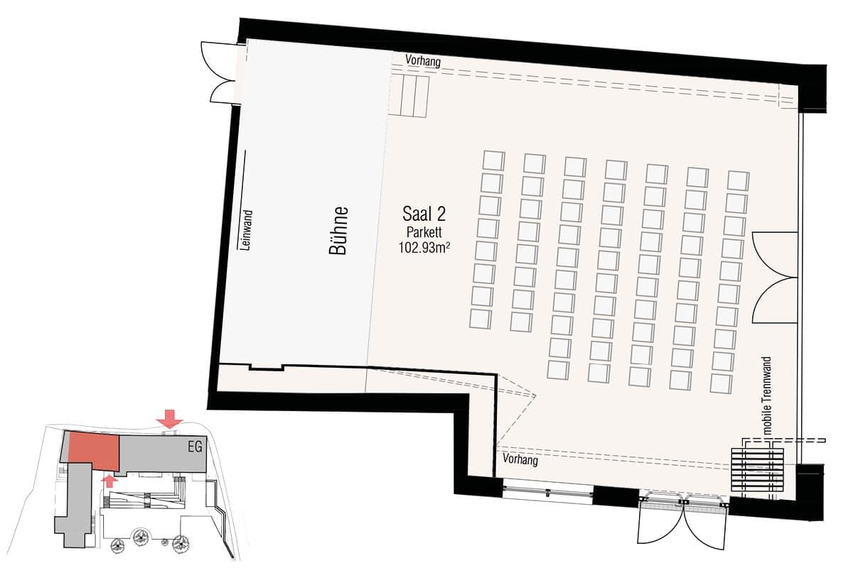 Veranstaltungssaal M Stieglerhaus