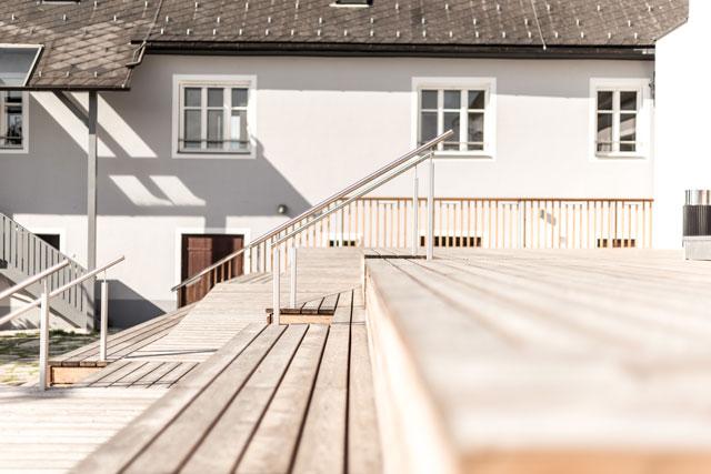 Stieglerhaus Terrasse