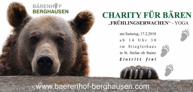 Stieglerhaus Charity Bären