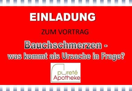 Darm Vortrag Purete Apotheke Stieglerhaus