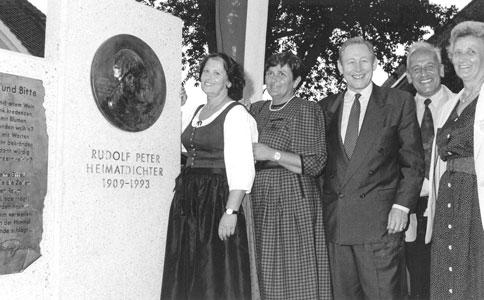 Rudolf Peter Gedenktafel
