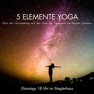 5 Elemente Yoga im Stieglerhaus