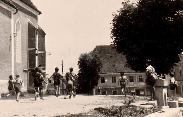 Stieglerhaus Archiv spielende Kinder