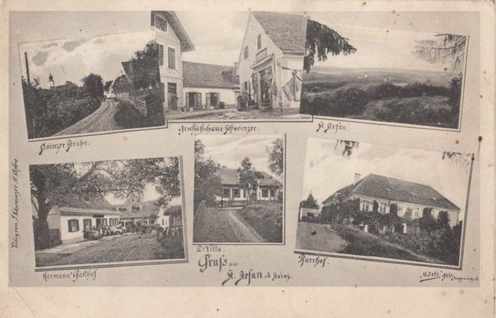 Stieglerhaus Archiv Ansichtskarte Gruß aus St. Stefan ob Stainz