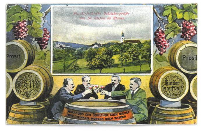 Stieglerhaus Archiv Postkarte Schilcher 1932
