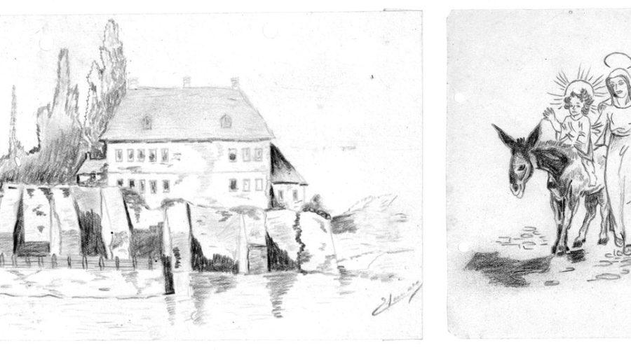 Stieglerhaus Archiv Zeichnungen Thomas Luis