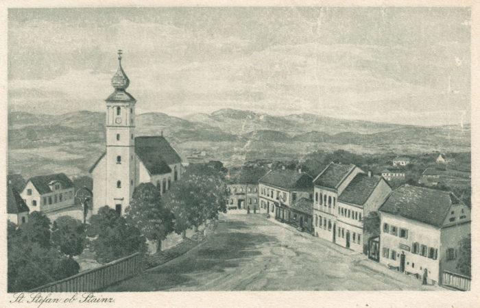 Ansichtskarte St. Stefan ob Stainz 1921