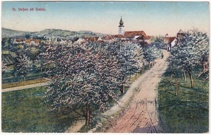 Stieglerhaus Archiv Ansichtskarte St. Stefan